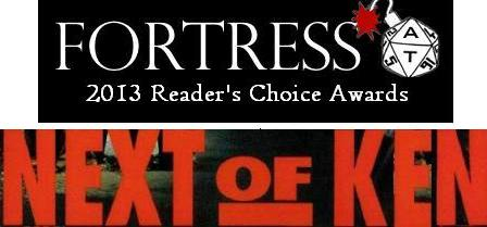 Next of Ken, Volume 83:  The Fortress: AT Reader's Choice 2013 Nominations Begin!