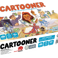 Cartooner: The fast and furious game of drawing comics Board Game Review