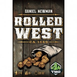Rolled West Board Game