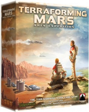 Ares Expedition: The Terraforming Mars Card Game on Kickstarter Now