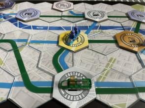 Maglev Metro Review - A Futurist Train Game