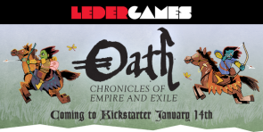 Leder Games Announces Oath Chronicles of Empire and Exile by Cole Wehrle