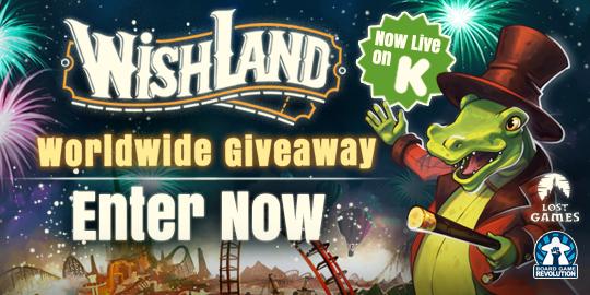 Wishland Worldwide Giveaway