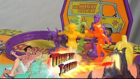 Scooby Doo Thrills and Spills - Vintage Board Game Review