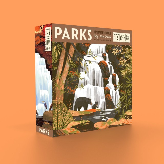 Parks Board Game Review: Keymaster Games is Knocking it Out of the Park(s)