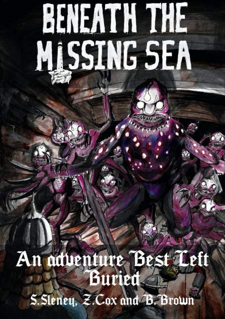 Beneath the Missing Sea: A Tale Best Left Buried RPG review