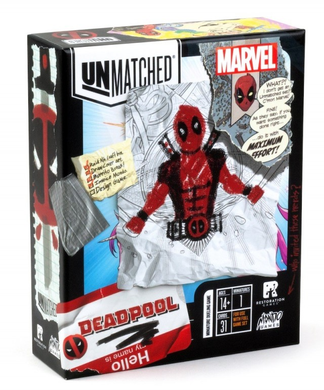Unmatched: Deadpool Single-Hero Expansion Announced
