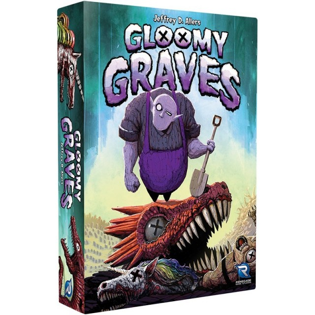 Gloomy Graves Announced by Renegade Games