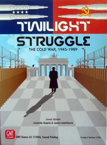 Twilight Struggle Board Game Review