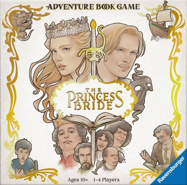 The Princess Bride Adventure Book Game Announced by Ravensburger
