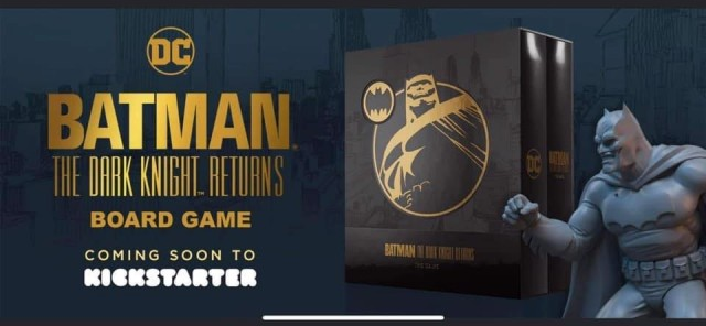 Batman: The Dark Knight Returns -Solo Board Game - on Kickstarter Now