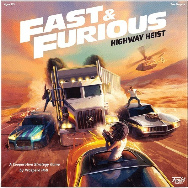 Fast & Furious: Highway Heist Board Game Announced by Funko Games