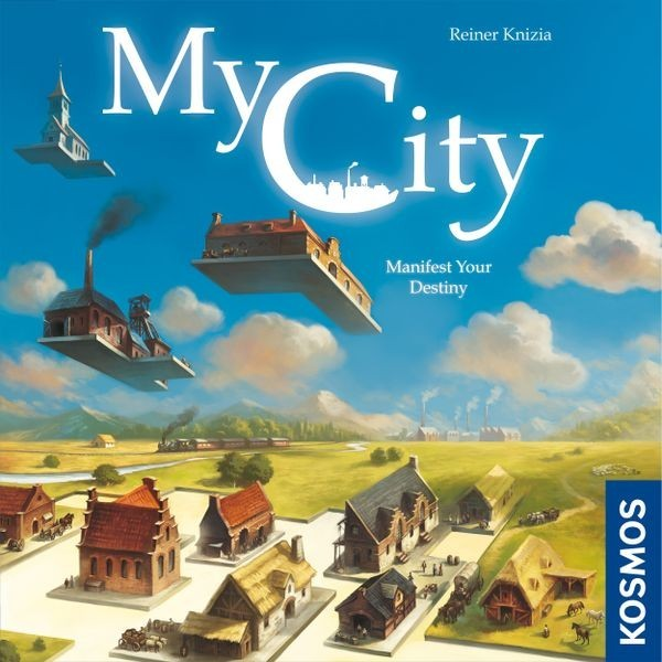 Reiner Knizia's My City Coming to Barnes & Noble this Summer