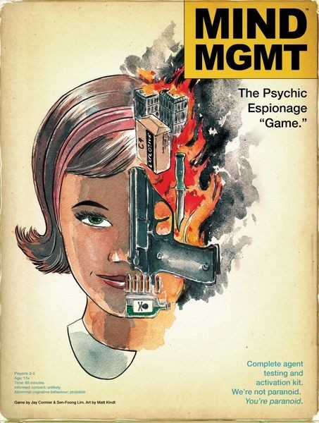 "MIND MGMT: The Psychic Espionage ""Game"" Giveaway"
