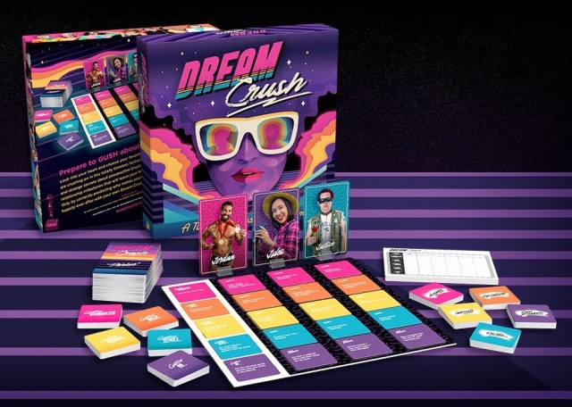 In Stores Now - Dream Crush by Mondo Strives for Inclusivity and Includes Socially-Distanced Play