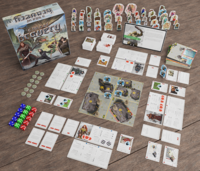 A Tale of Bravery  an Adventure Board Game is Coming to Retail Soon  - Free Demo Available for Download Now
