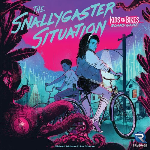 The Snallygaster Situation: Kids on Bikes Board Game Now Available for Pre-Order