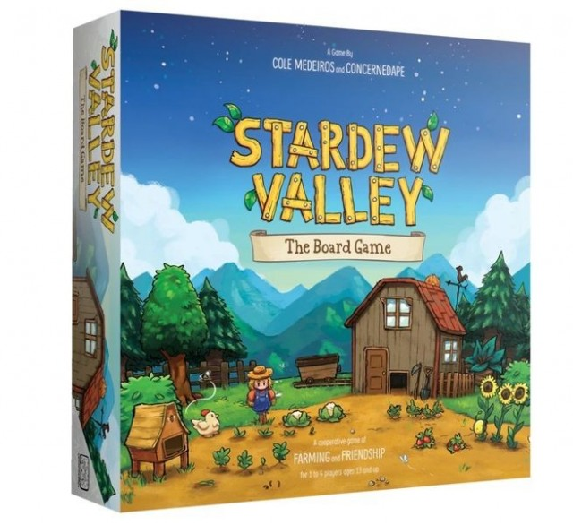 Stardew Valley: The Board Game Released