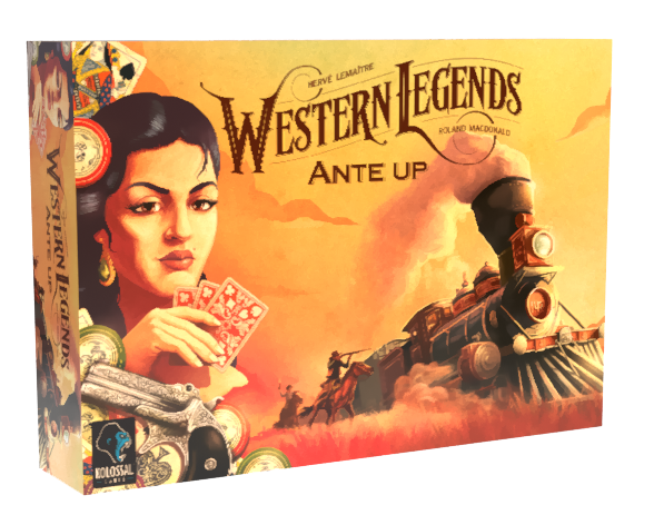 I'll Make Ya Famous: A Western Legends Ante Up Expansion Board Game Review