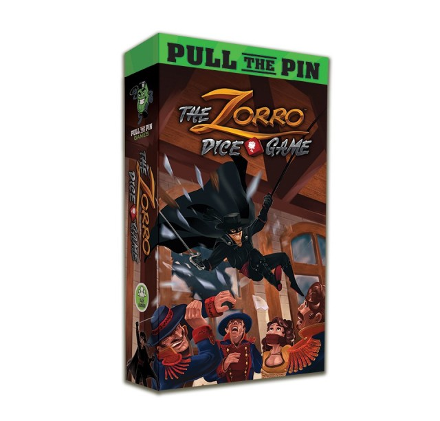 The Zorro Dice Game Board Game Review