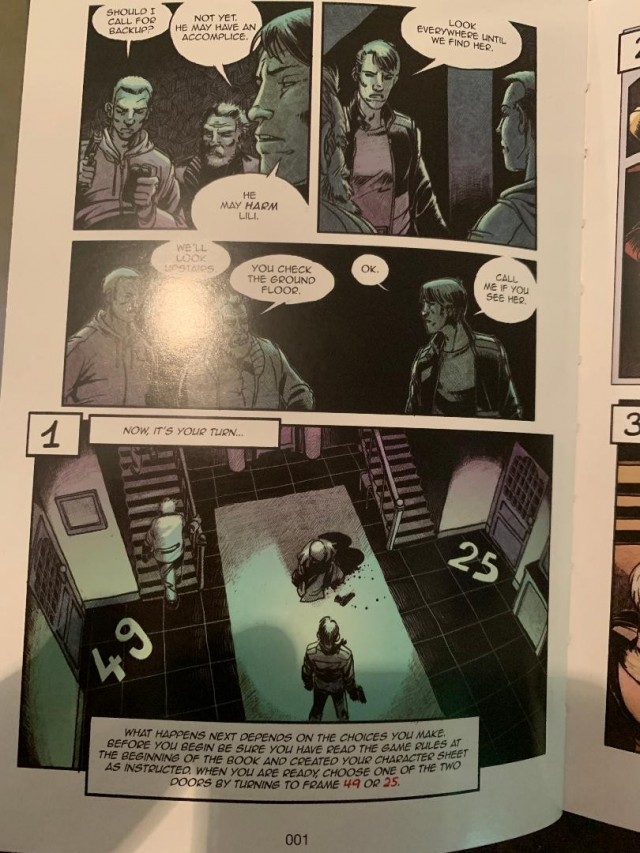 Captive Graphic Novel Adventures - A Five Second Board Game Review
