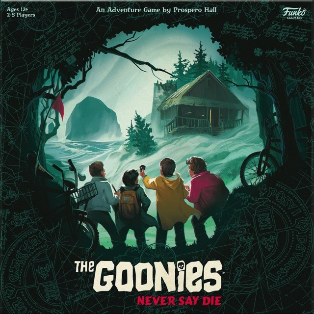 The Goonies: Never Say Die Coming from Prospero Hall/Funko Games