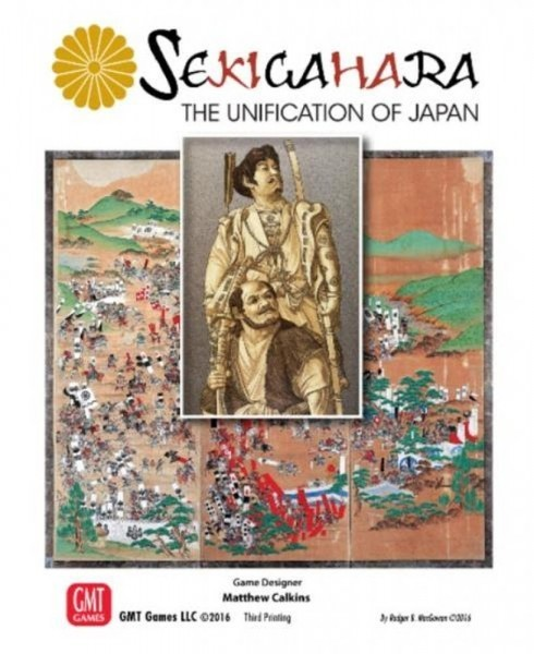 Sekigahara- A Five Second Board Game Review