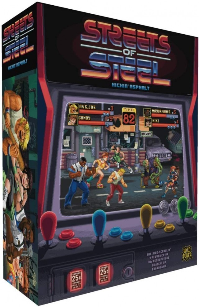 All the Rage - Streets of Steel Review