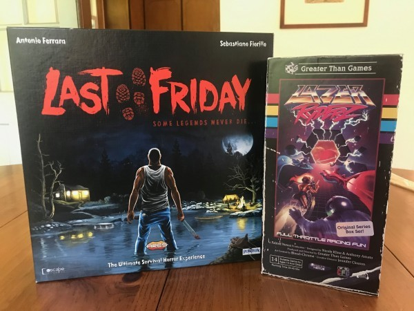 It Came From the Tabletop! - Hidden Gems Part 1:  Last Friday and Lazer Ryderz