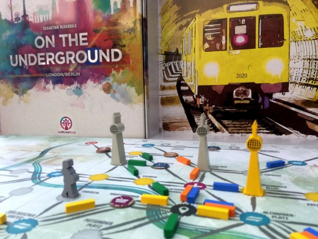 On the Underground London/Berlin Board Game Review