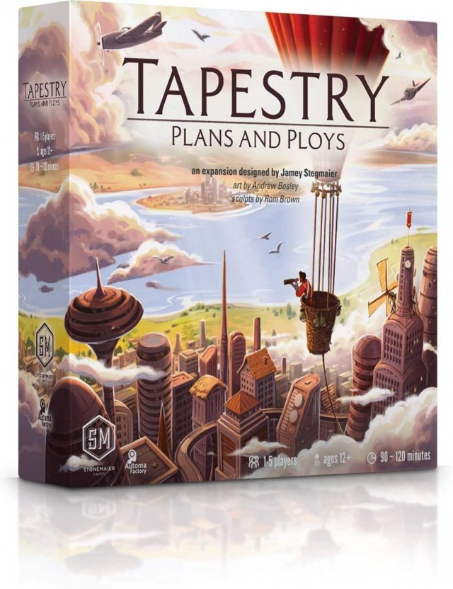 Tapestry: Plans & Ploys Review (Digital Eyes)