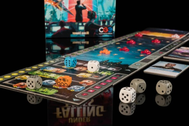 Under Falling Skies Board Game Review