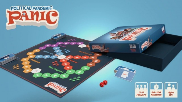 Political Pandemic Panic Now on Kickstarter