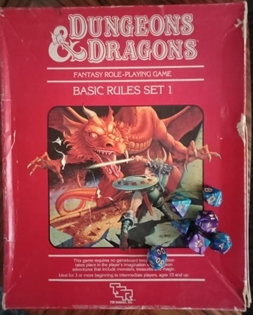 Red Box Dawn - The Ballad of Bargle - Memories of Dungeons & Dragons Red Box