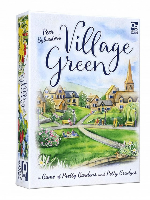 Village Green Coming Soon from Osprey Games