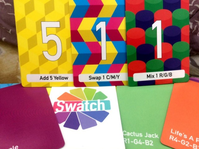 Swatch Board Game Review