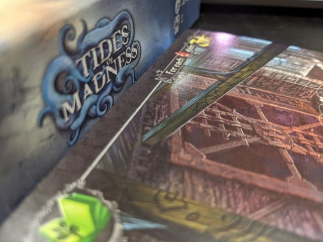 Tides of Madness Review - a Cthulhu Based Drafting Game to Send Your Partner Mad