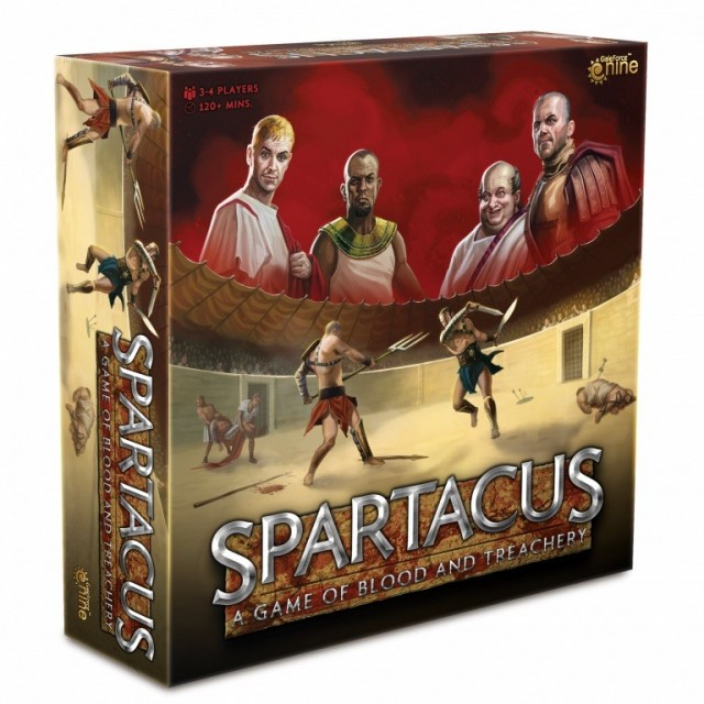 Spartacus: A Game of Blood & Treachery 2020 Edition Coming this Spring from Gale Force 9