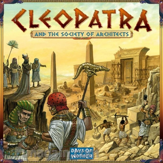Cleopatra and The Society of Architects or Why Am I Embarrassed to Admit That I Like This Game?