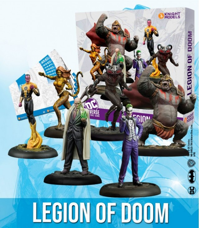 Bring on the Bad Guys 8: Legion of Doom, Superman and Wonder Woman - DC Universe Miniature Game