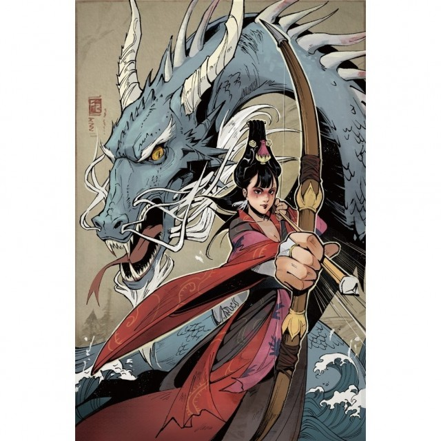 IDW and CMON Announce Rising Sun Comic Book Series