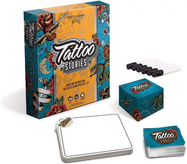 A Tattoo Stories Board Game Review