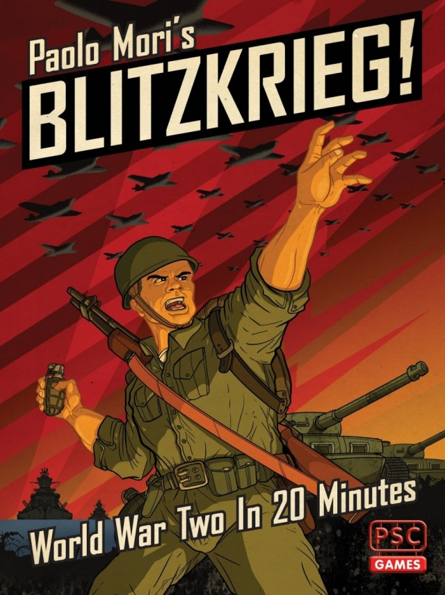 Blitzkrieg Board Game Review  - Beware the Bag