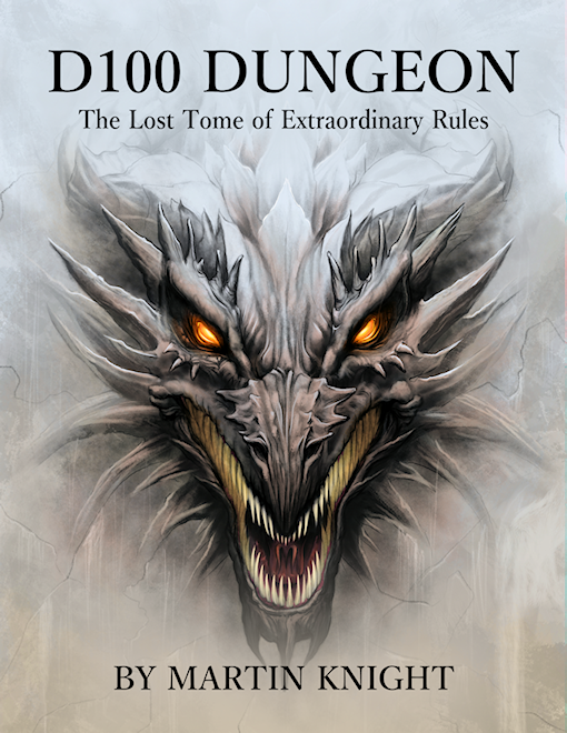 D100 Dungeon - The Lost Tome of Extraordinary Rules