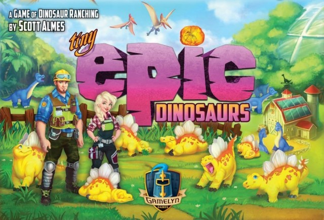 Lizard Wrangling: Tiny Epic Dinosaurs Review
