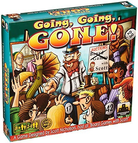 Discount Dive: Going, Going, Gone! Board Game Review
