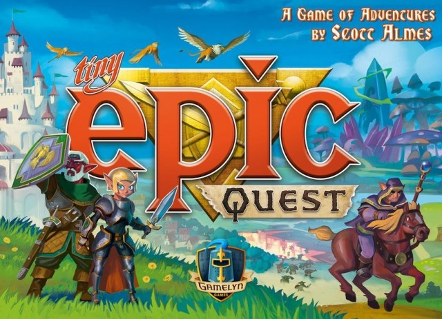 Tiniest Epics, vol. 3: Questing in the abstract