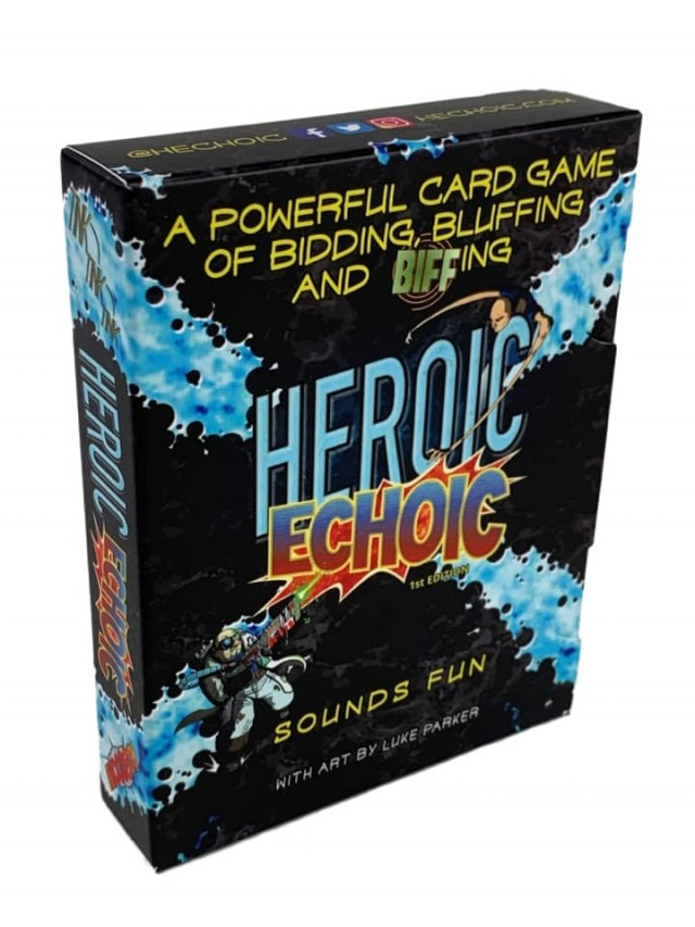 Heroic Echoic Board Game Review