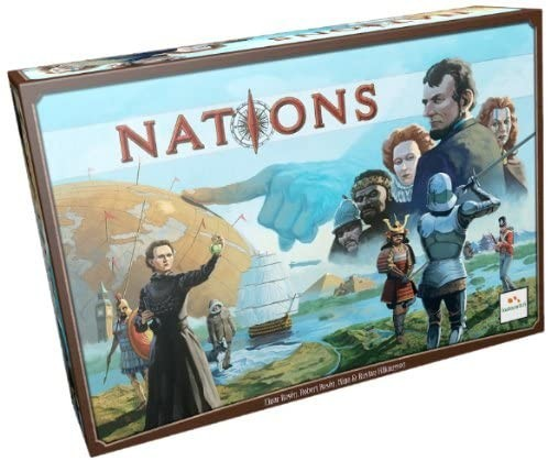 In Order to Form a More Perfect Union: A Nations Board Game Review