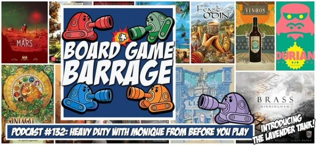Heavy Duty with Monique from Before You Play - Board Game Barrage